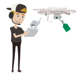 Drone rental at drone hospital is easy and safe.