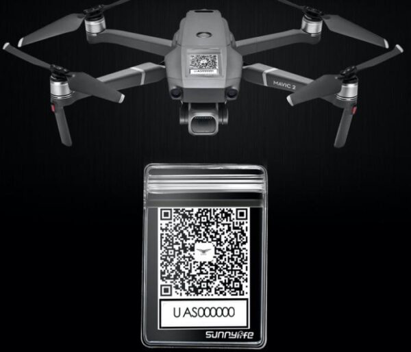 DJI Mavic 2 Pro/Zoom - QR Code Water-Proof Bag for Drones 1