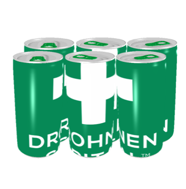 6-Pack Energy Drink DrohnenSpital 1